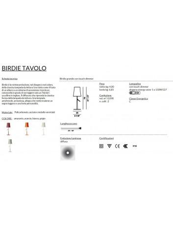 Foscarini Birdie Grande Tavolo Dimmer