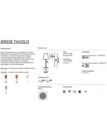 Foscarini Birdie Piccola Tavolo