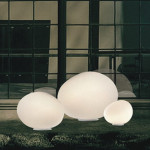 Foscarini Outdoor Gregg Media Terra Bianco