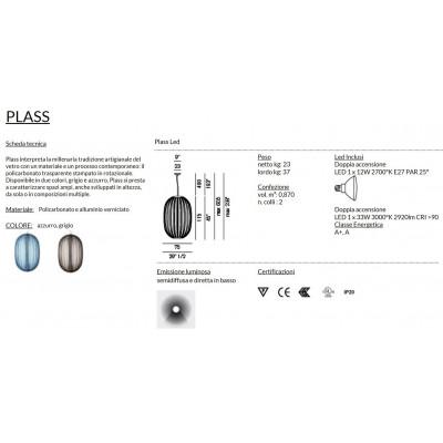 Foscarini Plass Sospensione LED