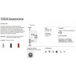 Foscarini Tress Mini Sospensione