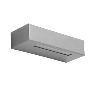 ESSENZA 22 APPLIQUE LED BIEMISSIONE GRIGIO