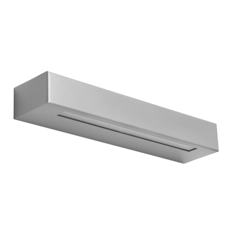 ESSENZA 36 cm Alluminio - Applique 28W LED moderna biemissione MADE in ITALY classe A+