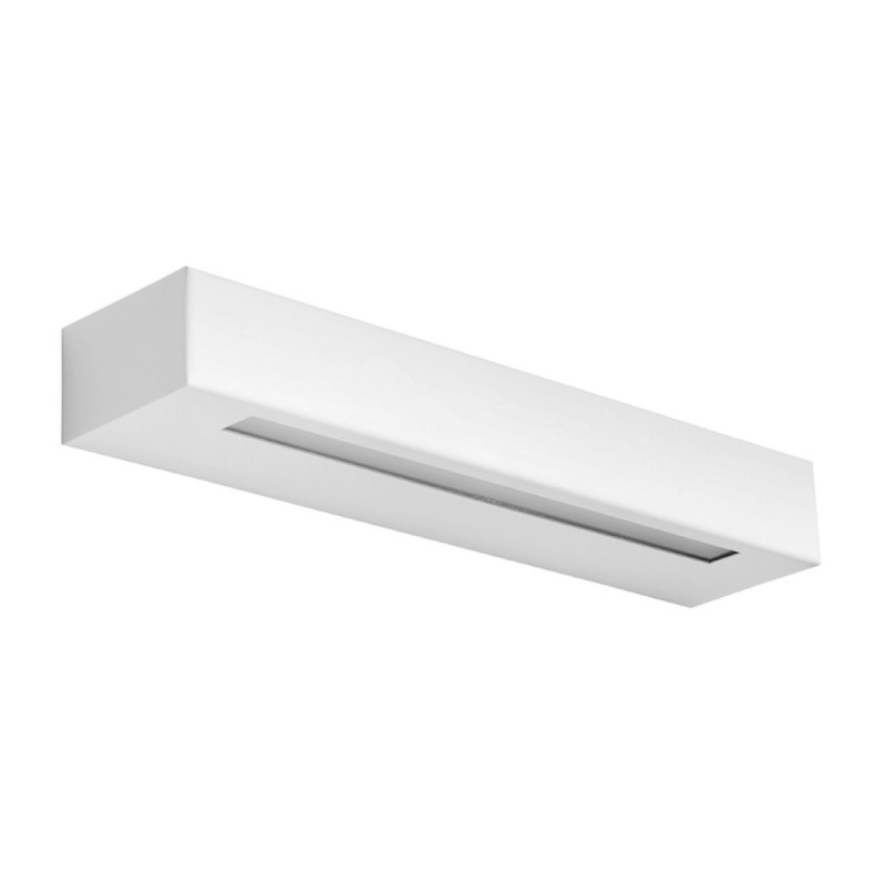ESSENZA 36 cm Bianco - Applique 28W LED moderna biemissione MADE in ITALY classe A+