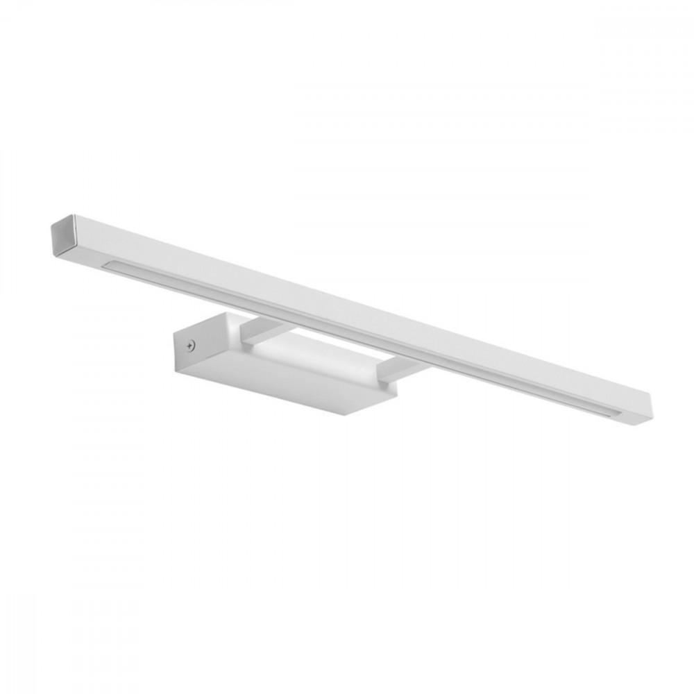 Linea bianco applique led per quadri e specchi 9 5w for Lampada alogena lineare led