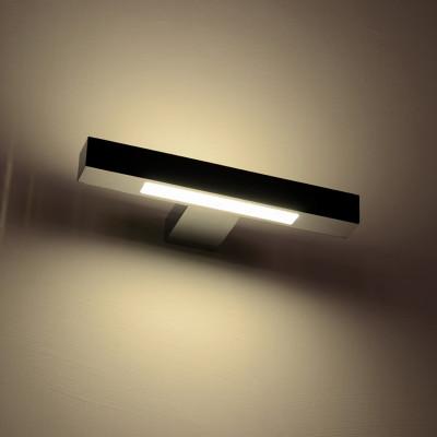 COMPACT LED APPLIQUE LED BIEMISSIONE 7W LUCE CALDA MODERNA LUCE CALDA