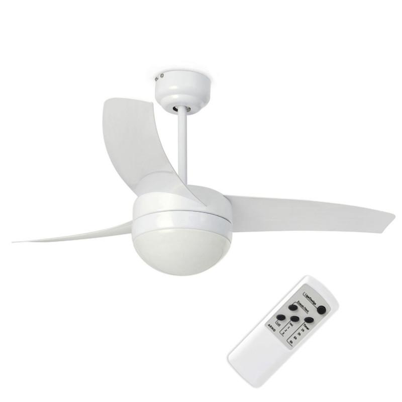 Ventilatore da Soffitto 105 cm con Luce e telecomando