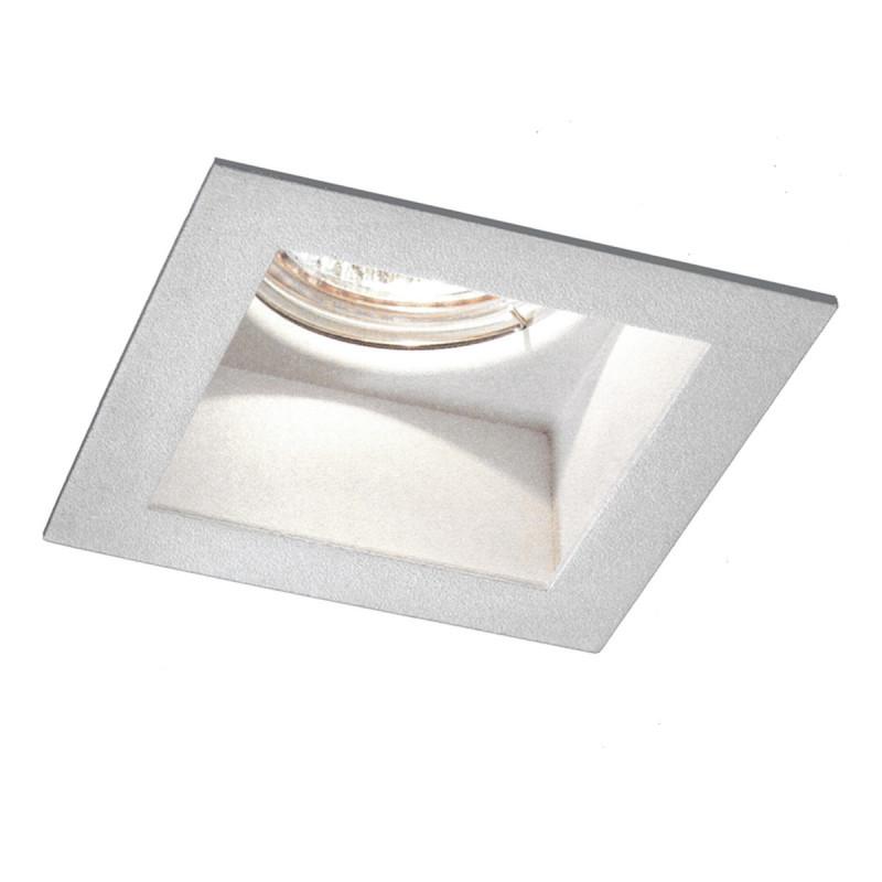 Visible i hv faretto incasso in metallo quadrato bianco for Faretti flos