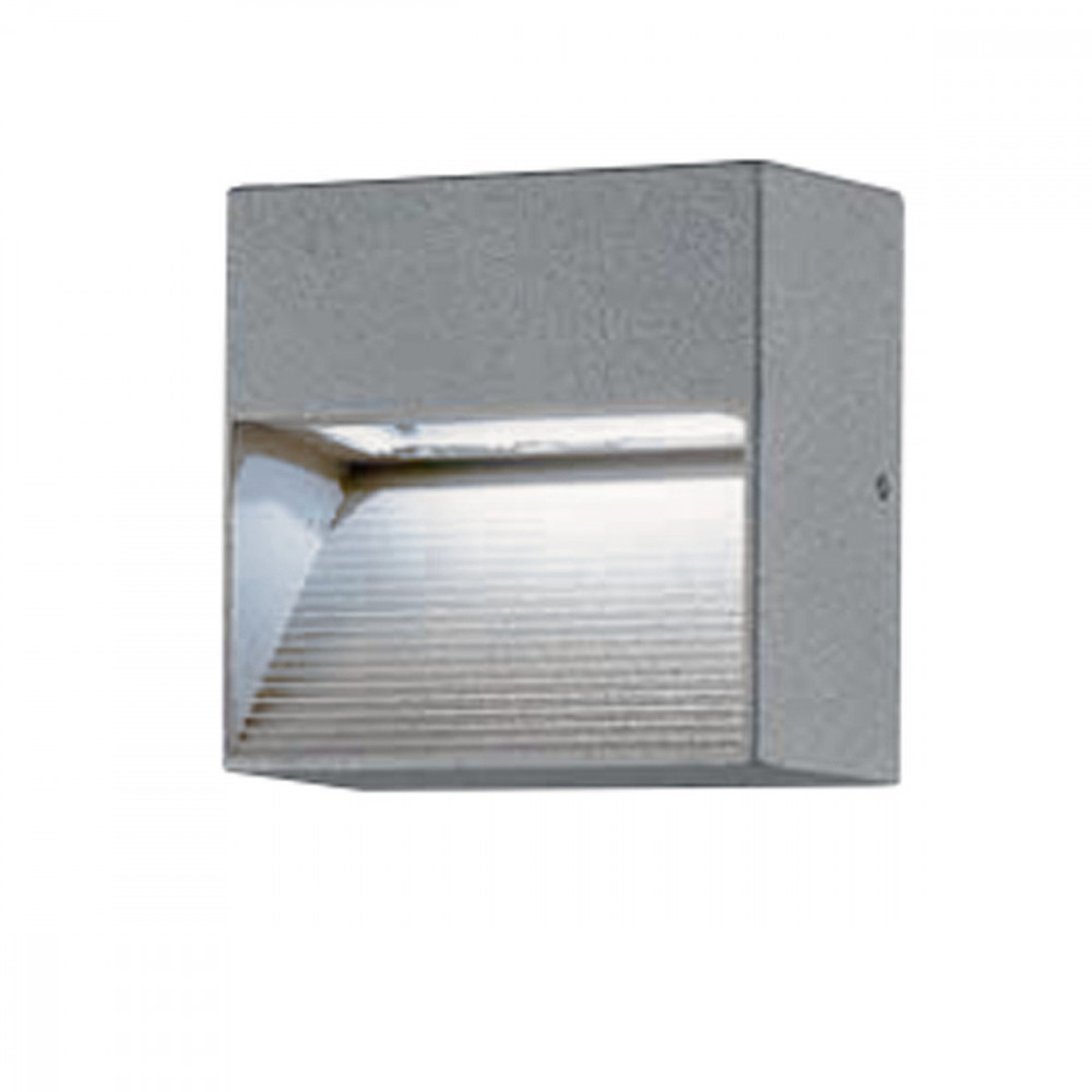 Cubetto segnapassi parete led per esterno luce fredda - Lampade per esterno a led ...