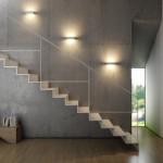 ESSENZA 22 cm Bianco - Applique 14W LED moderna biemissione MADE in ITALY classe A+