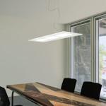 Dublight LED Sospensione Rettangolare cm 100