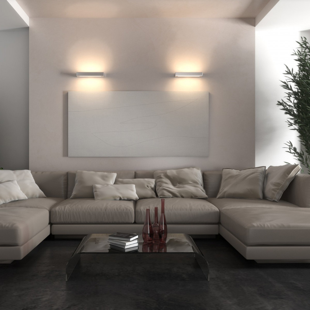 Essenza applique led biemissione   lampade parete doppia emissione ...