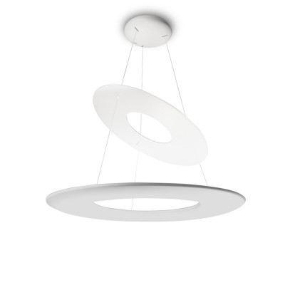 Linea Light MA&DE Kyklos Led Sospensione Cm 65 Con Anello 68W