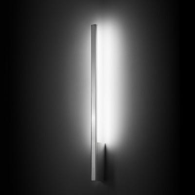 Linea Light MA&DE Xilema Applique LED Verticale 18W alluminio lucido