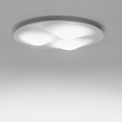 Linea Light MA&DE Circle Wave Led Plafoniera 28W Cm 65