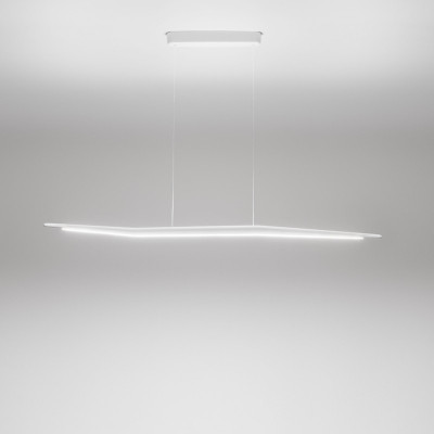 Linea Light MA&DE Branch Led Sospensione Biemissione Cm 117