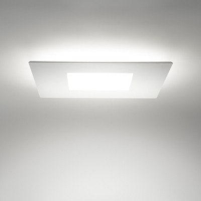Linea Light MA&DE Square Led Plafoniera Quadrata Cm 50 28W