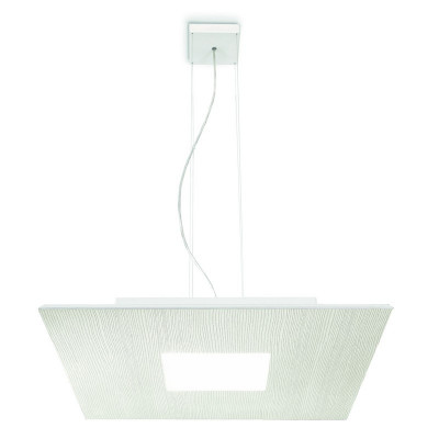 Linea Light MA&DE Square Led Sospensione Quadrata Cm 50 28W
