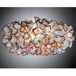 SLAMP CLIZIA LARGE GRANDE 78 CM ARANCIO (ORANGE) ACCESO
