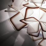 SLAMP CLIZIA Plafoniera 53 cm ARANCIO ORANGE PARTICOLARE