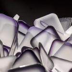 SLAMP CLIZIA Plafoniera 53 cm VIOLA PURPLE PARTICOLARE