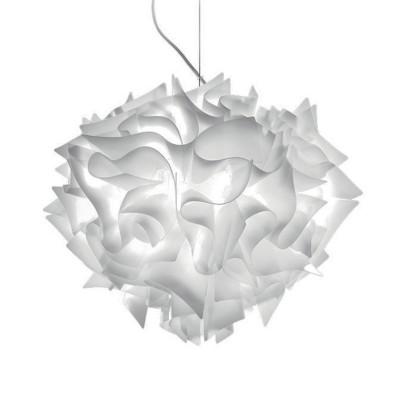 SLAMP VELI Lampada Sospensione Large 60 cm Bianco Opal