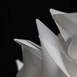 SLAMP VELI Plafoniera LARGE - particolare Bianco Opal