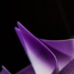 SLAMP VELI Plafoniera LARGE - Particolare Viola Plum