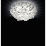 SLAMP VELI Plafoniera LARGE 76 cm - Bianco Opal Accesa