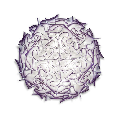 SLAMP VELI Plafoniera LARGE 76 cm Viola Plum