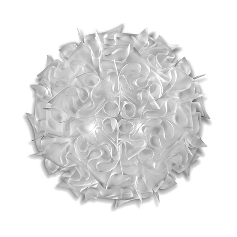 SLAMP VELI Plafoniera LARGE 76 cm Bianco Opal