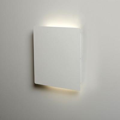 Biluce Mattonella Applique LED 15W Quadrata Biemissione Extra Piatta