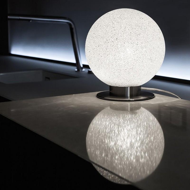 Lumen Center Iceglobe Mini Tavolo Comodino Sfera 20 cm