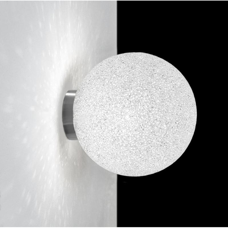 Lumen Center Iceglobe Mini Applique Plafoniera Sfera 20 cm
