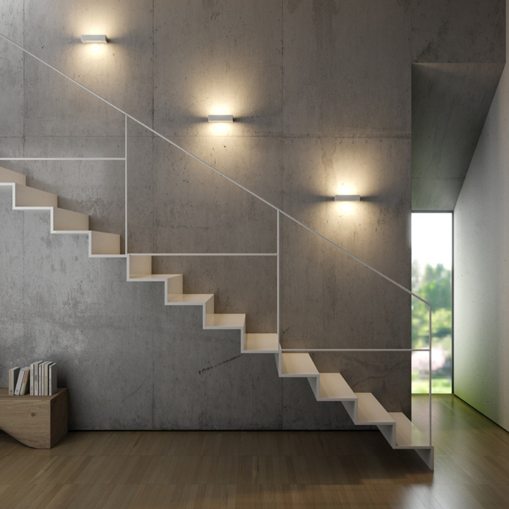 ESSENZA - APPLIQUE LED MODERNA BIEMISSIONE - Eluce illuminazione