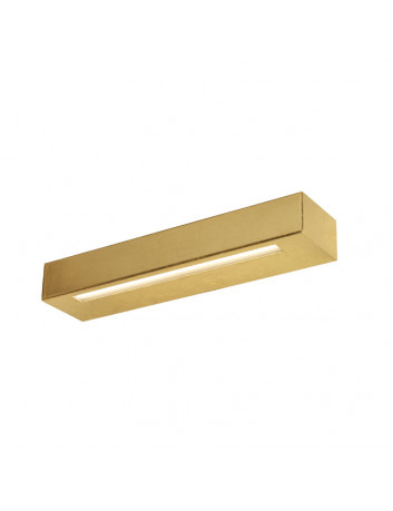 Essenza 36 Cm Oro - applique LED biemissione foglia oro