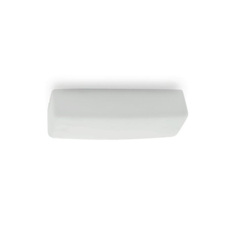 Linea Light My White LED Applique Plafoniera LED Rettangolare per esterno 35 cm 11W