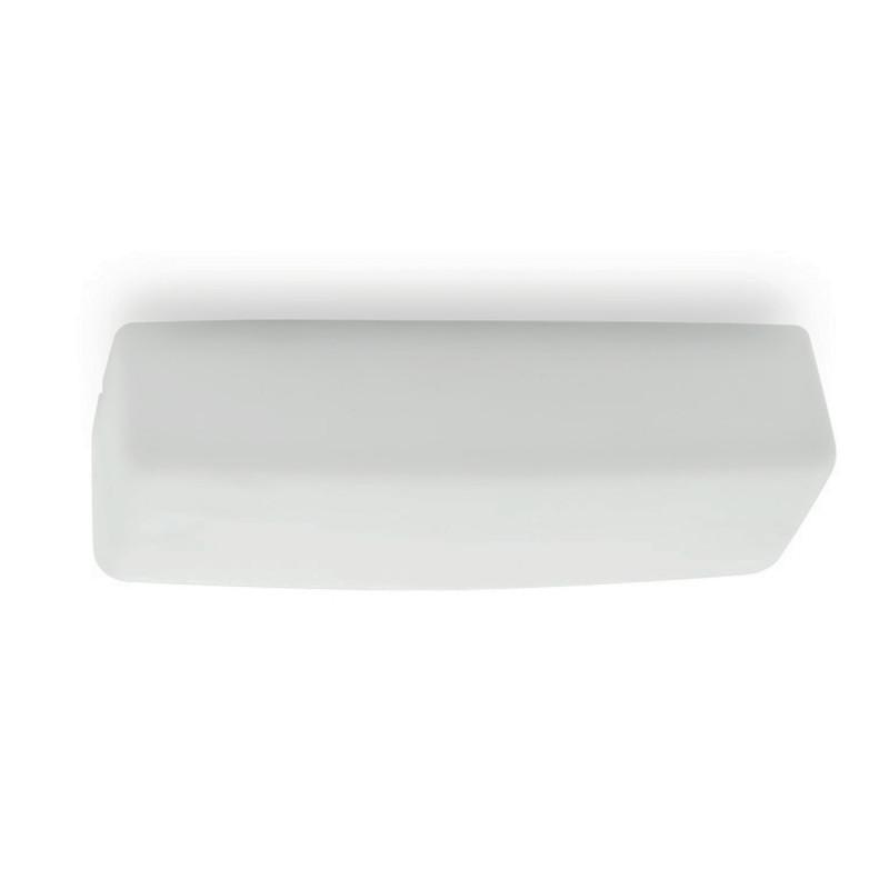 Linea Light My White Applique Plafoniera LED Rettangolare per esterno 17W 50 cm