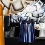 Slamp Clizia Table Lampada da Tavolo con Base in Metallo Colorata