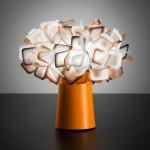 Slamp Clizia Table Lampada da Tavolo Arancio