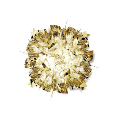 Slamp Veli Mini Plafoniera 32 cm Oro Argento e Rame