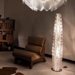 Slamp CACTUS XL PRISMA Lampada Terra 155 cm con Dimmer