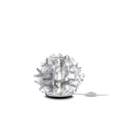 Slamp Cactus Prisma XS Lampada da Tavolo Base in Acciaio Inox