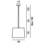 Foscarini Twiggy Grande Sospensione - Misure