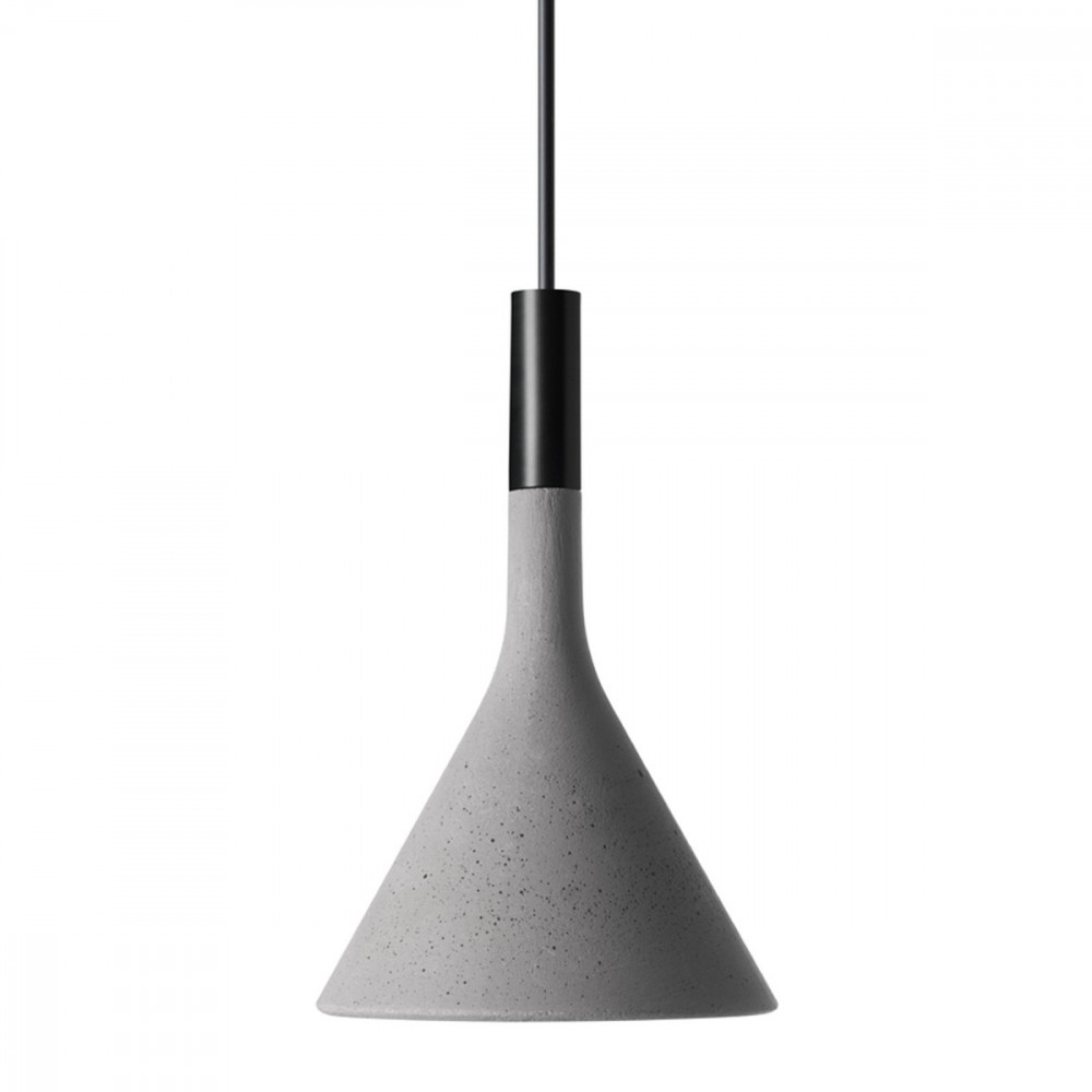 Lampada Cemento Foscarini: Moderno gt foscarini aplomb mini lampada sospensio...