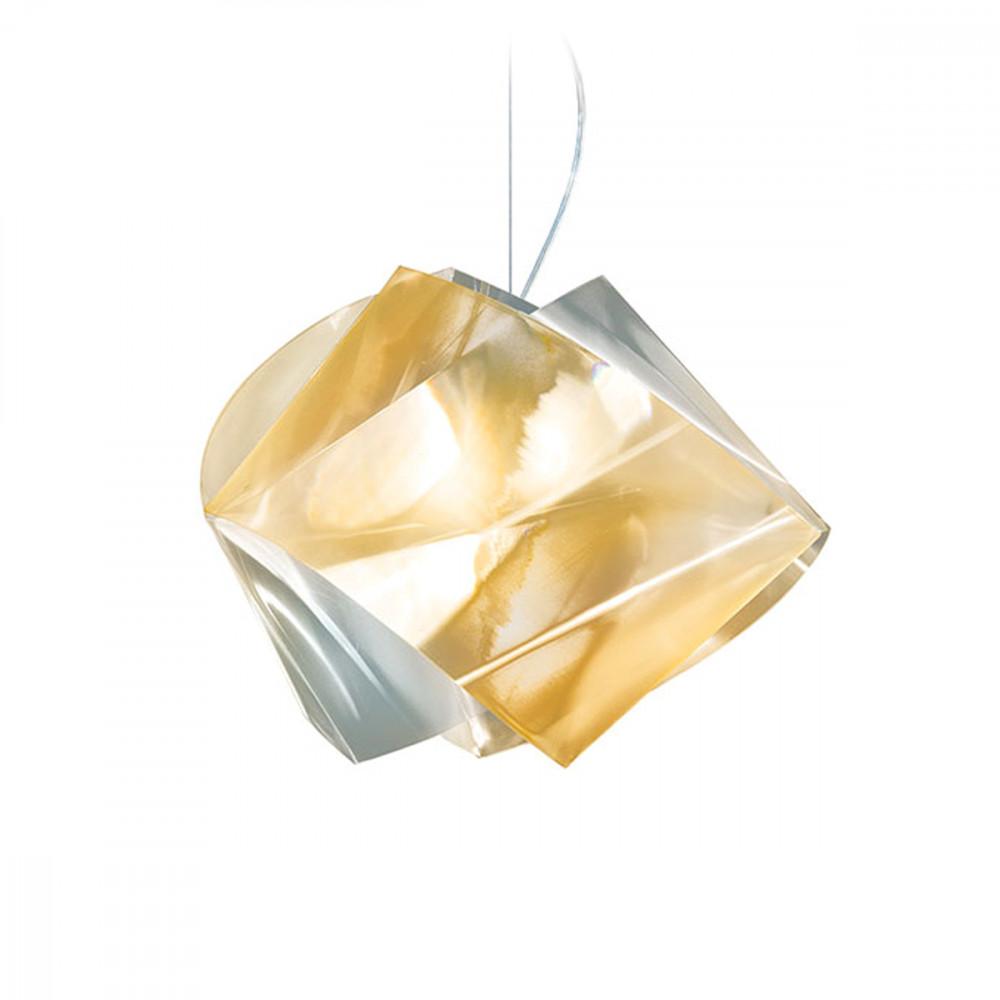 Slamp Gemmy Prisma Lampada A Sospensione 42 Cm Composta Di Anelli Sospensione Slamp
