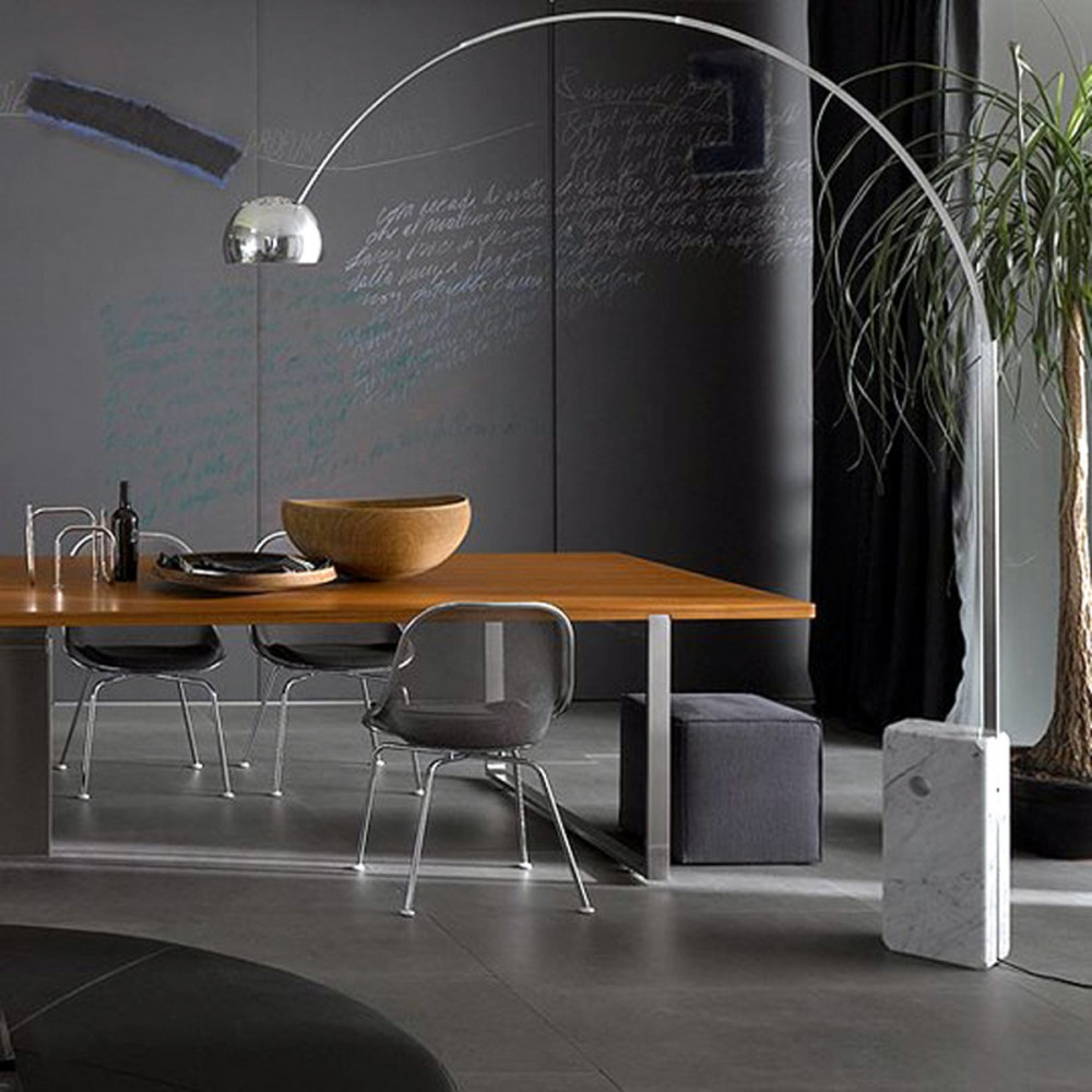 Arc Floor Lamp Dining