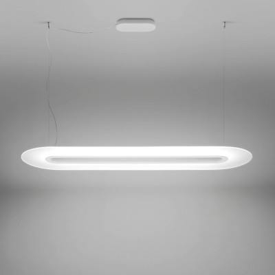 Linea Light MA&DE Opti-Line Lampadario Sospensione LINEARE LED Cm 129