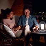 Lampada tavolo LED ricaricabile Abelia