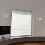 Biluce Opposit Applique LED Anello Bianco